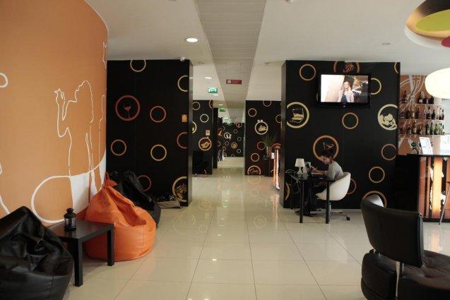 Loungebar van hotel Star Inn Porto in Porto
