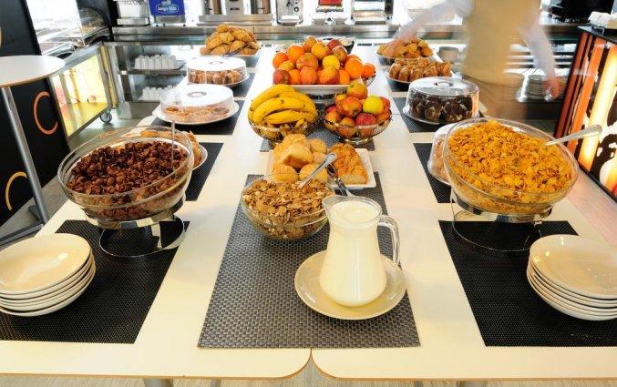 Ontbijt van hotel Star inn Porto in Porto