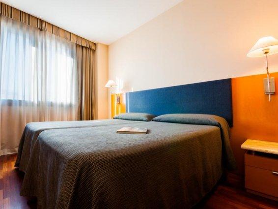 Tweepersoonskamer van Hotel VillaCarlos in Valencia