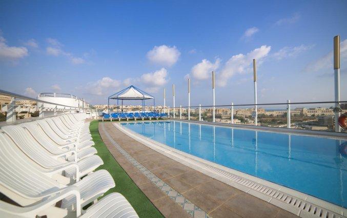 Zwembad van Be.Hotelin Malta