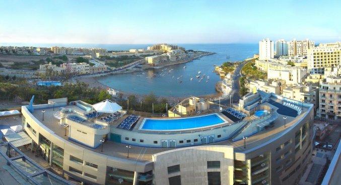 Uitzicht van Be.Hotelin Malta