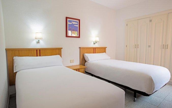 Slaapkamer van appartementen The Koala Garden Suites in Gran Canaria