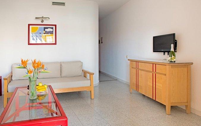 Woonkamer van appartementen The Koala Garden Suites in Gran Canaria
