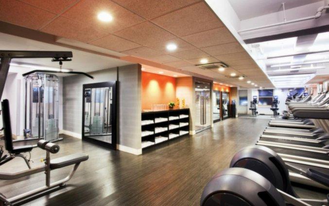 Fitnesszaal van Hotel Row NYC