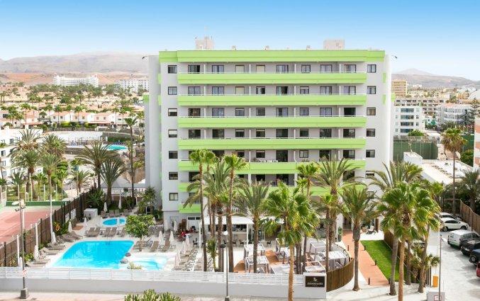 Gebouw van Hotel THe Anamar Suite op Gran Canaria