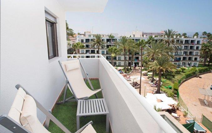 Balkon van Hotel THe Anamar Suite op Gran Canaria
