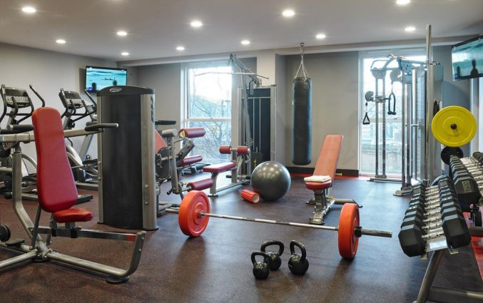 Fitnessruimte van Hotel Red Cow Moran in Dublin