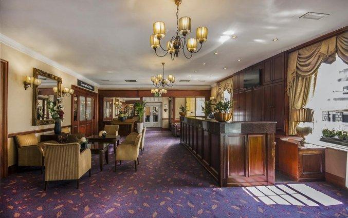 Receptie en lounge van Hotel Cassidys in Dublin