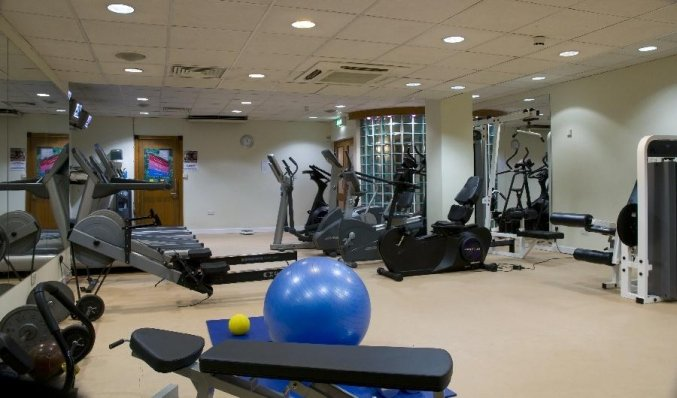 Fitnessruimte van Hotel Camden Court in Dublin