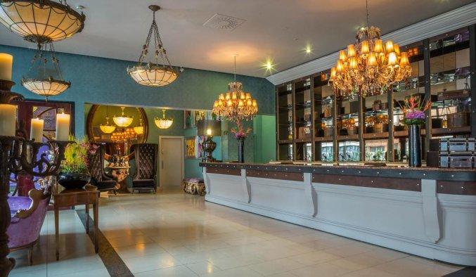 Receptie van Hotel Trinity City in Dublin