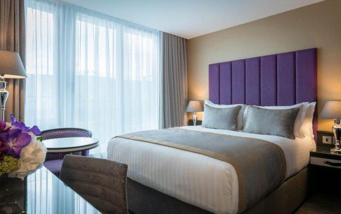 Tweepersoonskamer van Hotel Trinity City in Dublin