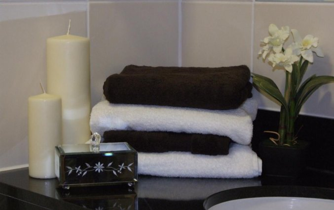 Badkamer van een tweepersoonskamer van Hotel Dublin Skylon in Dublin