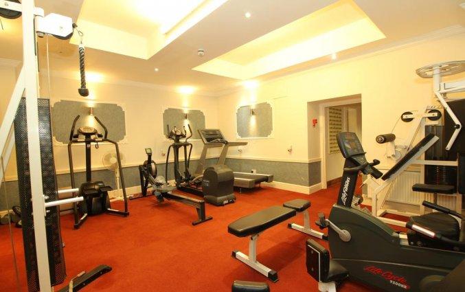 Fitnessruimte van Hotel Castle in Dublin