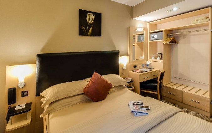 Tweepersoonskamer van Hotel Academy Plaza in Dublin