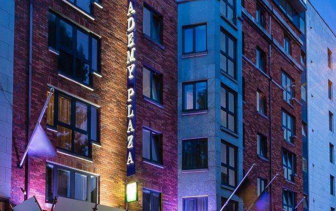 Gebouw van Hotel Academy Plaza in Dublin