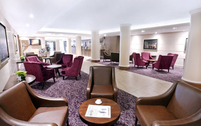 Lounge van Hotel Academy Plaza in Dublin