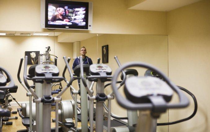 Fitnessruimte van Hotel Academy Plaza in Dublin