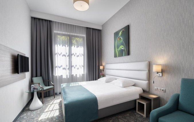 Tweepersoonskamer van Hotel Golden Tulip Krakow Kazimierz in Krakau