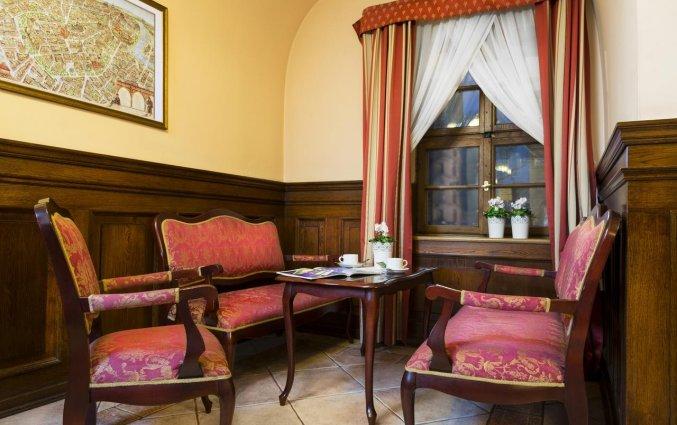 Zithoek van Hotel Regent in Krakau