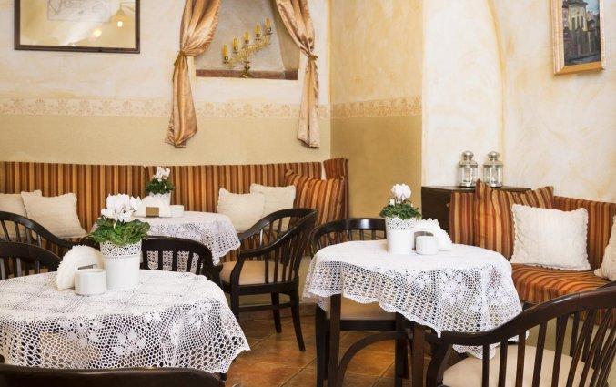 Ontbijtzaal van Hotel Regent in Krakau