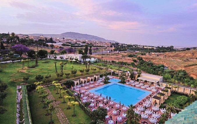 Uitzicht op Hotel Palais Medina & Spa in Fez