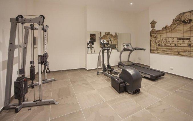 Fitnesszaal van Hotel San Giorgio Palace op Sicilië