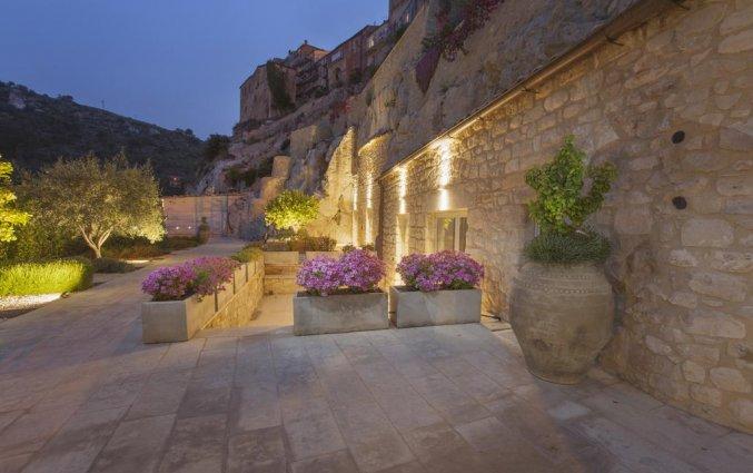 Tuin van Hotel San Giorgio Palace op Sicilië
