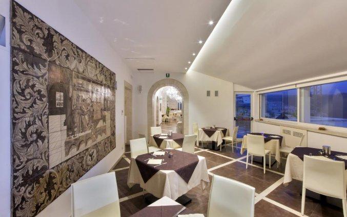 Eetzaal van Hotel San Giorgio Palace op Sicilië