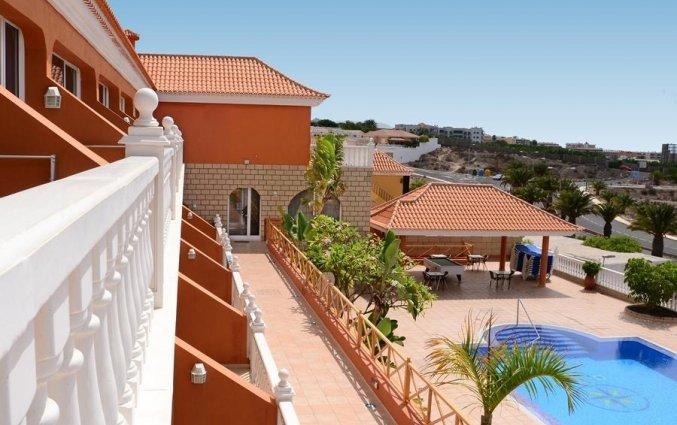Uitzicht vanaf Appartementen Callaomar Tenerife