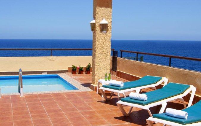 Terras van Hotel Marquesa op Tenerife