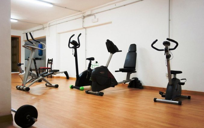 Fitnessruimte van Hotel Marquesa op Tenerife