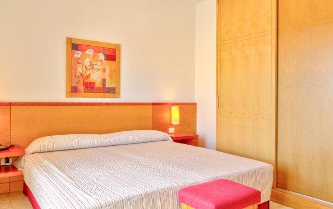 Slaapkamer van kamer in Hotel Marquesa op Tenerife