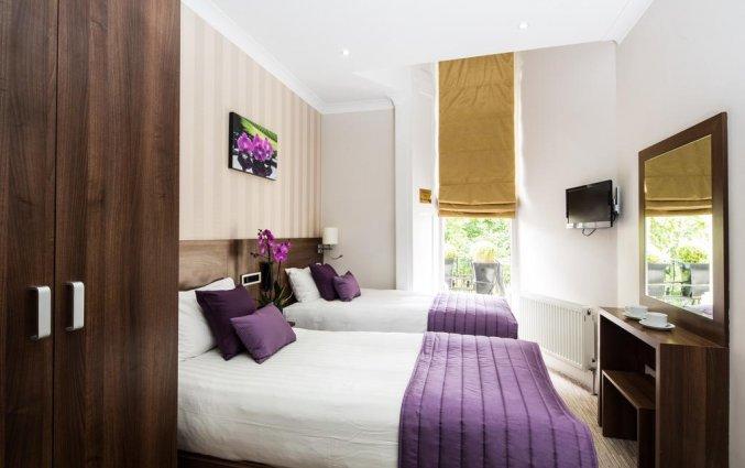 Tweepersoonskamer van Hotel London House in Londen