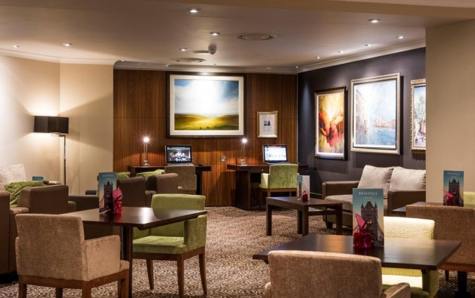 Lounge van Hotel The Tower A Guoman in Londen