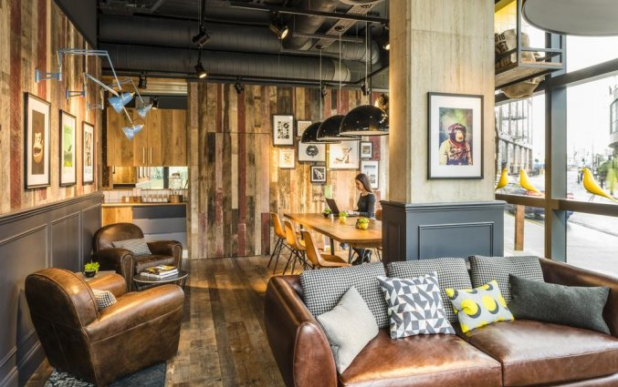 Lounge van Hotel Novotel Canary Wharf in Londen