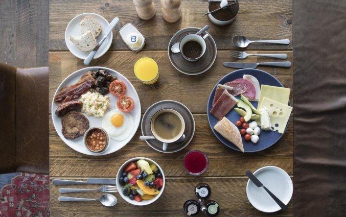 Ontbijt van Hotel Novotel Canary Wharf in Londen