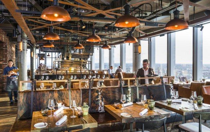 Restaurant van Hotel Novotel Canary Wharf in Londen
