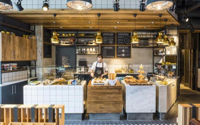Ontbijtbuffet van Hotel Novotel Canary Wharf in Londen