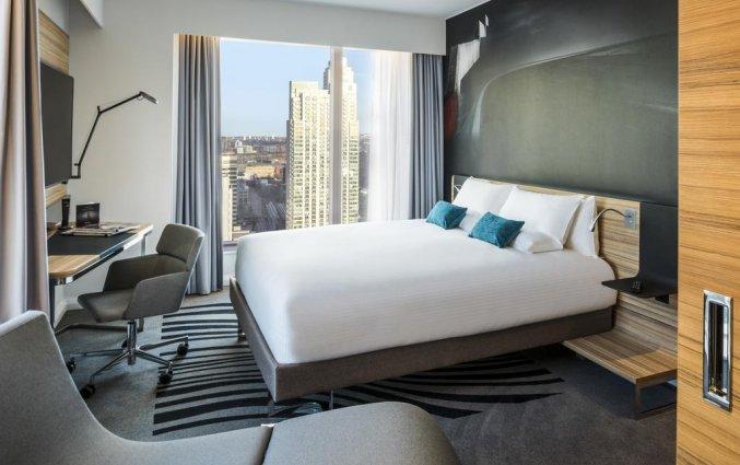 Tweepersoonskamer van Hotel Novotel Canary Wharf in Londen