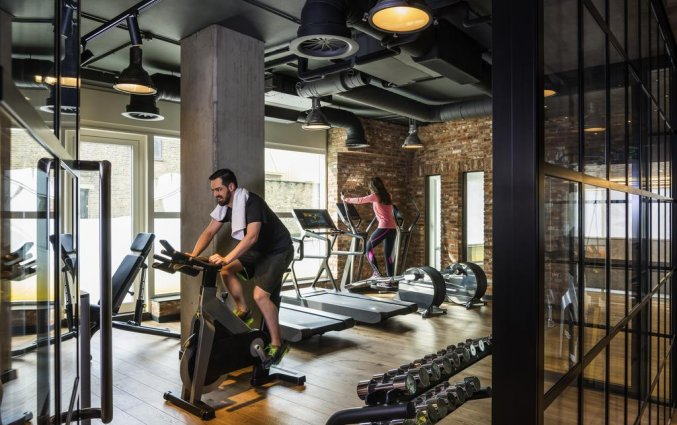 Fitnessruimte van Hotel Novotel Canary Wharf in Londen