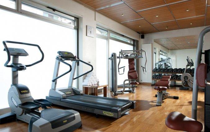 Fitnessruimte van Hotel Ambasciatori in Venetië
