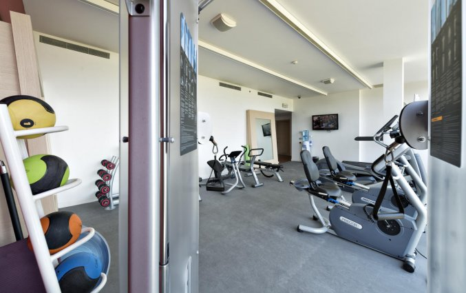 Fitnessruimte van hotel Hilton Garden Inn Venice Mestre San Giuliano in Venetie
