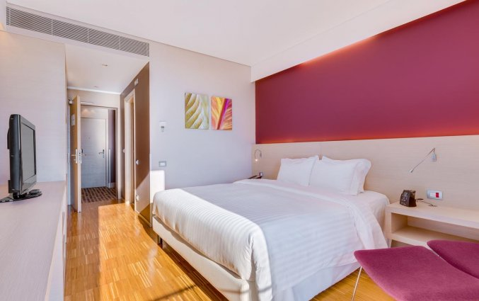 Slaapkamer van hotel Hilton Garden Inn Venice Mestre San Giuliano in Venetie