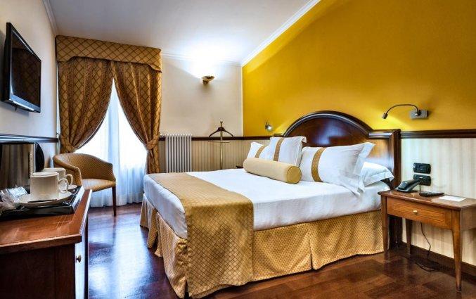 Tweepersoonskamer van WorldHotel Casati 18 in Milaan