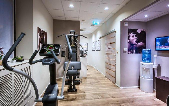 Fitnessruimte van WorldHotel Casati 18 in Milaan
