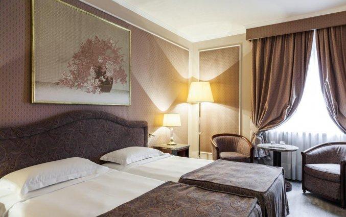 Tweepersoonskamer van Grand Hotel ADI Doria in Milaan