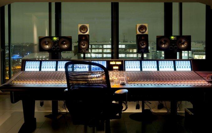 Muziekstudio van Hotel NHow in Berlijn