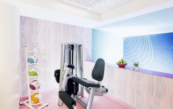 Fitnessruimte van Hotel NHow in Berlijn