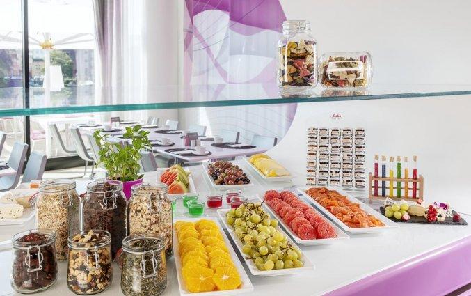 Ontbijtbuffet van Hotel NHow in Berlijn