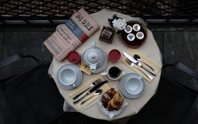 Ontbijt bij Mercure Hotel iH Milano Regency Milaan Italië